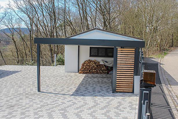 myport carport anthrazit. Black Bedroom Furniture Sets. Home Design Ideas