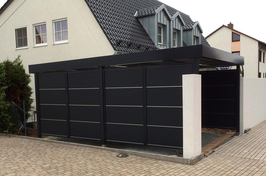 carport wandelemente myport. Black Bedroom Furniture Sets. Home Design Ideas