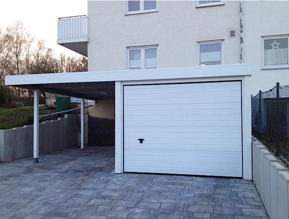 carport garagen anbau. Black Bedroom Furniture Sets. Home Design Ideas