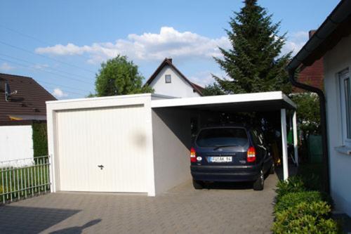 carport anbau carport garage stahl4. Black Bedroom Furniture Sets. Home Design Ideas