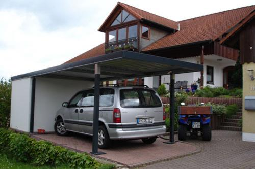 carport anbau carport garage stahl5. Black Bedroom Furniture Sets. Home Design Ideas