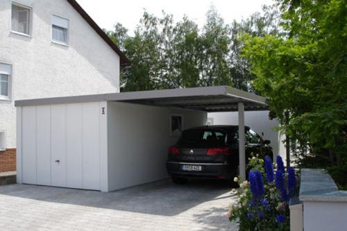 carport anbau carport garage stahl. Black Bedroom Furniture Sets. Home Design Ideas