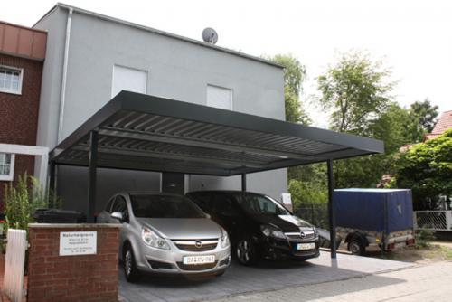 carport doppel carport stahl. Black Bedroom Furniture Sets. Home Design Ideas