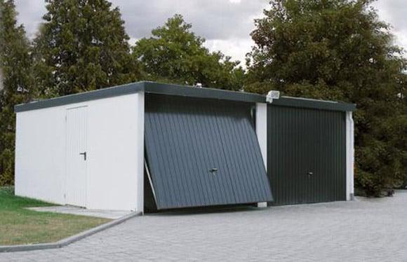Garage aus Stahl   MyPort