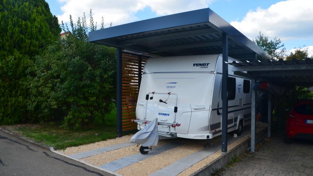 Beliebt Carport für Wohnmobile HT16
